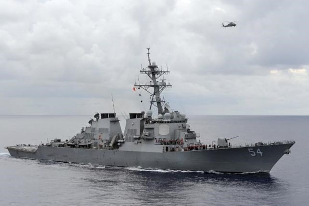 Appel a davantage d'operations navales americaines en Mer Orientale hinh anh 1