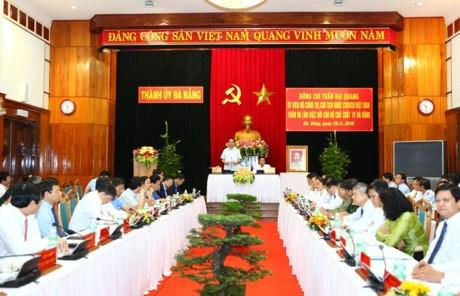 Da Nang engagee a developper rapidement et durablement son economie hinh anh 1