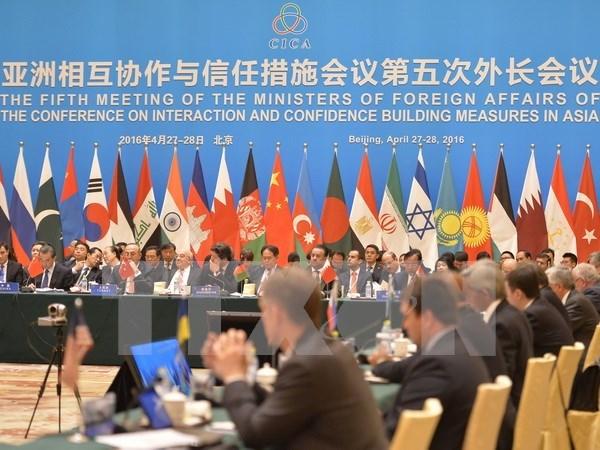 Le Vietnam a la reunion des ministres des Affaires etrangeres de la CICA hinh anh 1