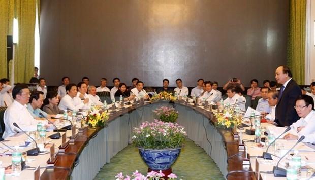 Le PM preside la reunion du Cabinet pour regler les petitions d'entreprises hinh anh 1