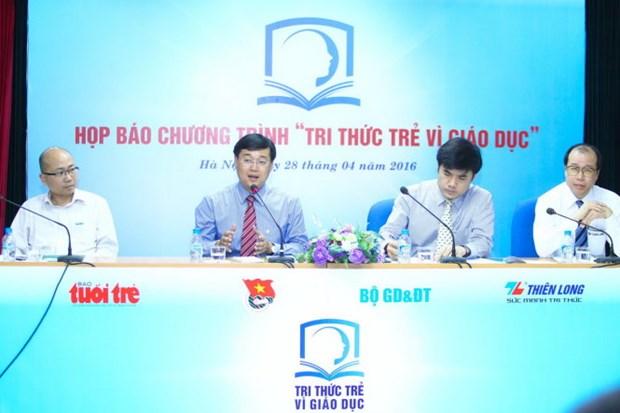 Lancement d'un programme d'initiatives de reforme de l'education hinh anh 1