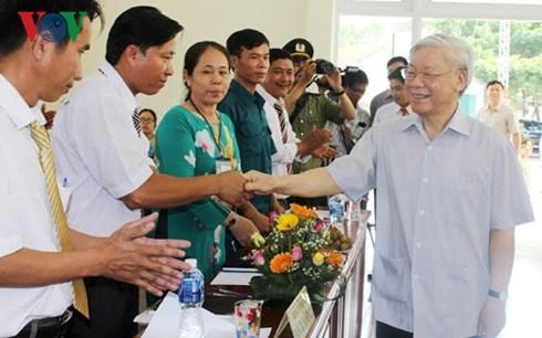 Secretaire general : Phu Yen doit exploiter ses atouts hinh anh 1
