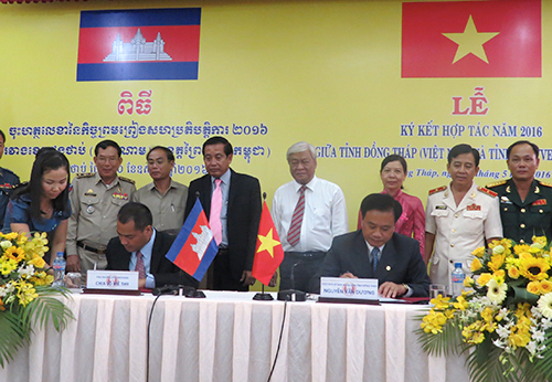 Dong Thap et Pray Veng renforcent leur cooperation hinh anh 1