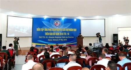 Vietnam-Etats-Unis : exercices communs de simulation de catastrophe naturelle hinh anh 1