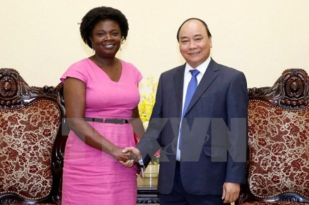Le PM Nguyen Xuan Phuc recoit la directrice nationale de la BM au Vietnam hinh anh 1