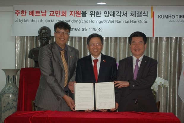 Kumho Tire accordera 120.000 dollars a l'Association des Vietnamiens en R.de Coree hinh anh 1