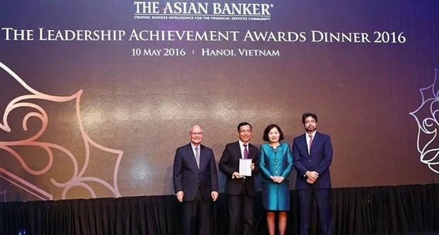 Trois banques vietnamiennes primees par The Asian Banker hinh anh 1