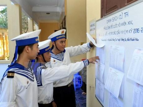 Elections a l'AN et aux conseils populaires : souhaits des electeurs de Truong Sa hinh anh 1