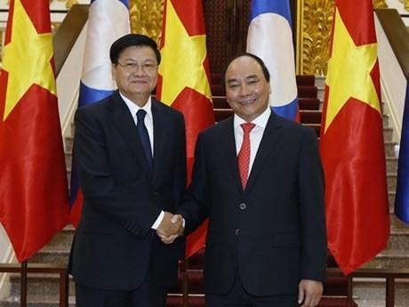 Entretien Nguyen Xuan Phuc - Thongloun Sisoulith hinh anh 1