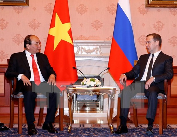 Entretien Nguyen Xuan Phuc – Dmitry Medvedev hinh anh 1