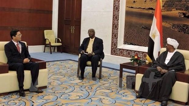 Le Soudan souhaite renforcer sa cooperation avec le Vietnam dans l'agriculture et l'industrie hinh anh 1