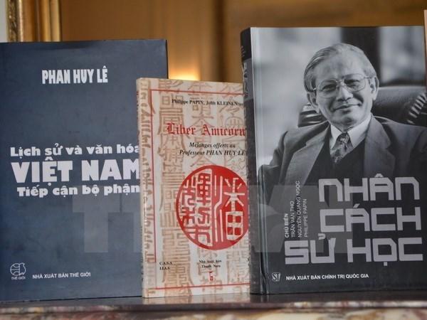 L'historien Phan Huy Le honore par L'Ecole francaise d'Extreme-Orient (EFEO) hinh anh 1