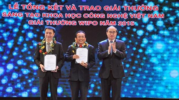 Remise des prix de creation scientifico-technique du Vietnam 2015 hinh anh 1