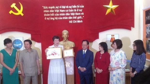 La directrice du Centre russe des Sciences et de la Culture au Vietnam a l'honneur hinh anh 1
