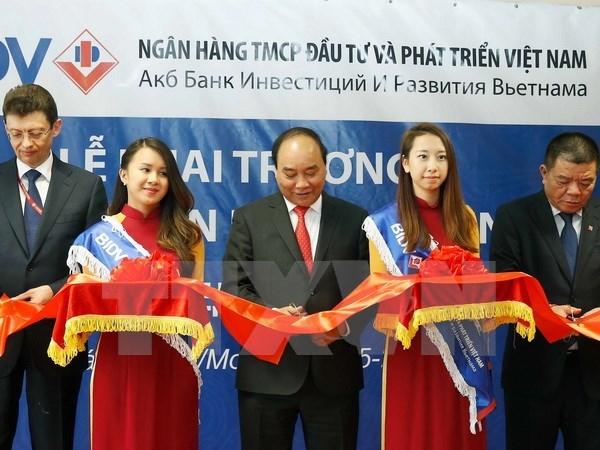 Le PM Nguyen Xuan Phuc assiste au Forum des entreprises Vietnam-Russie hinh anh 1