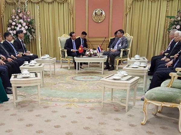 Approfondissement des relations d'amitie et de cooperation Vietnam-Thailande hinh anh 1