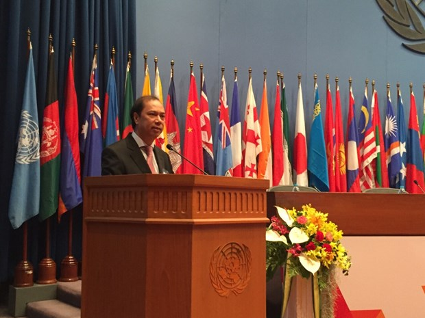 72eme session de la Commission economique et sociale de l'ONU pour l'Asie-Pacifique hinh anh 1