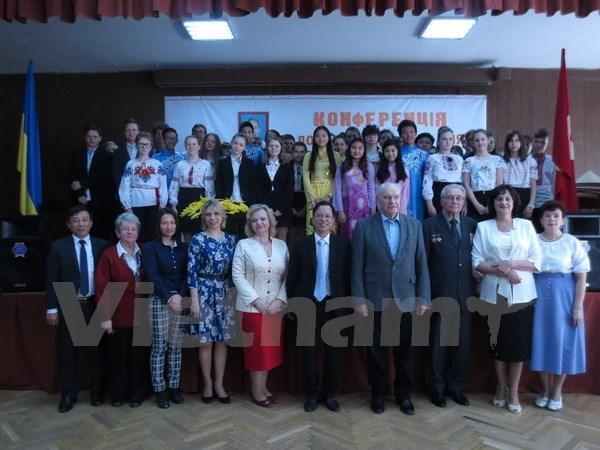 Colloque sur la lutte du peuple vietnamien pour l'independance et la liberte en Ukraine hinh anh 1