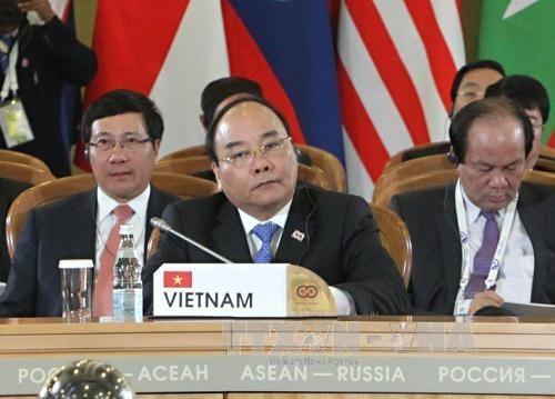 Sommet celebrant le 20e anniversaire du partenariat de dialogue ASEAN-Russie hinh anh 1