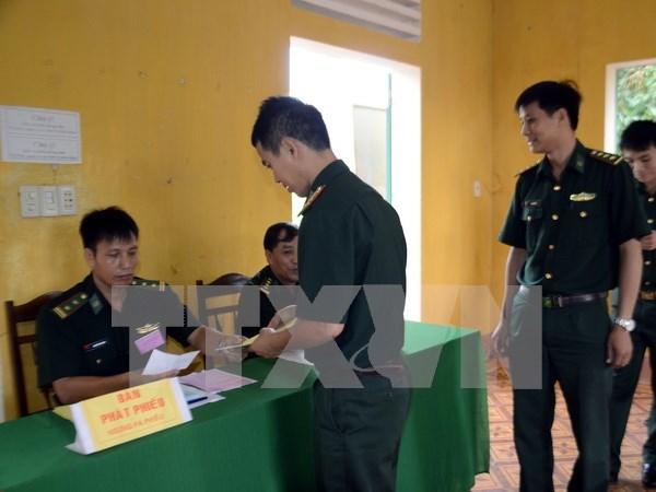 Elections anticipees dans de nombreuses localites dans l'ensemble du pays hinh anh 2