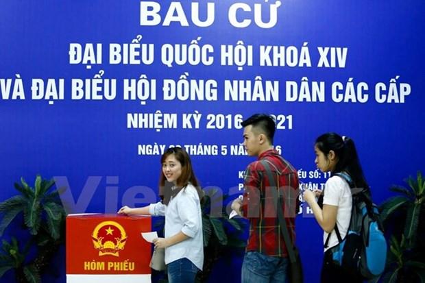 Les electeurs enthousiastes en cette fete des elections hinh anh 3