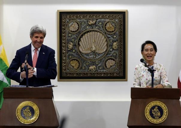 Le secretaire d'Etat americain effectue une courte visite au Myanmar hinh anh 1