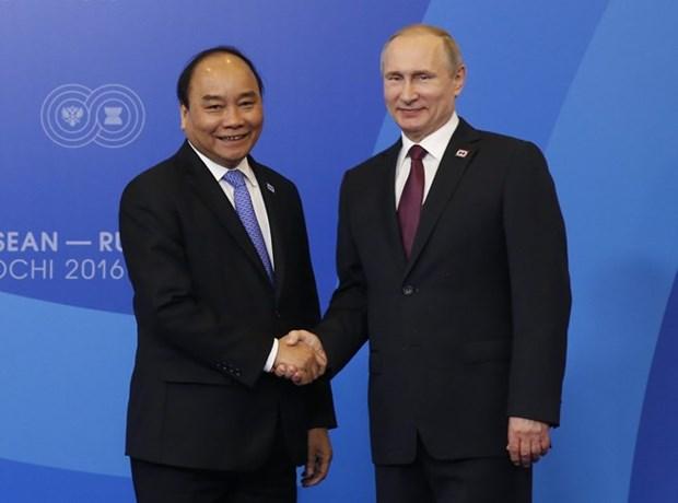La visite en Russie du PM vietnamien contribue beaucoup au partenariat strategique global hinh anh 1