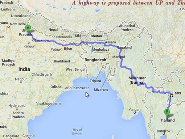 Inde, Thailande et Myanmar construisent une autoroute hinh anh 1