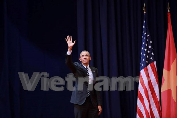 Barack Obama : Personne n'a le droit d'imposer ou de decider du destin du Vietnam hinh anh 1