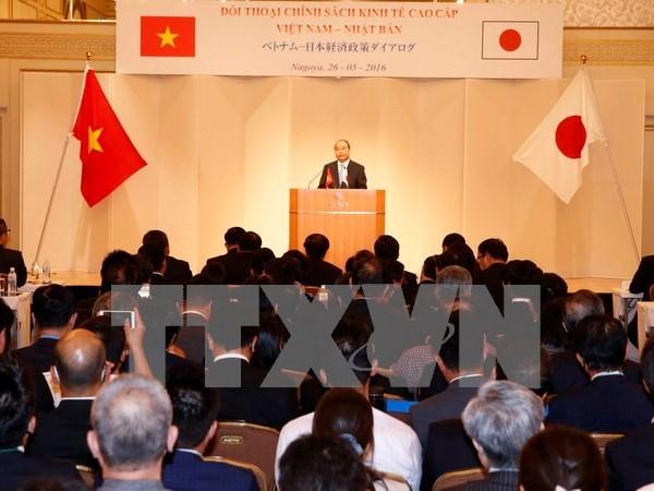Le PM Nguyen Xuan Phuc au Dialogue sur la politique economique Vietnam-Japon hinh anh 1