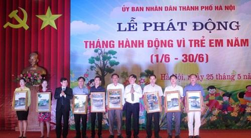 Hanoi: lancement du mois d'action pour les enfants hinh anh 1