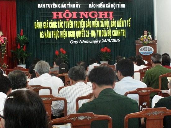 Binh Dinh: renforcement de la sensibilisation sur l'assurance sociale et l'assurance-sante hinh anh 1
