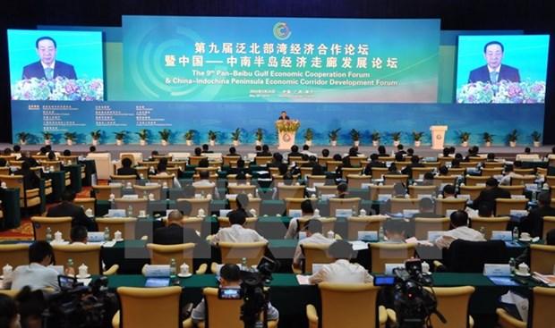 9e Forum de cooperation economique du golfe du Bac Bo elargi hinh anh 1
