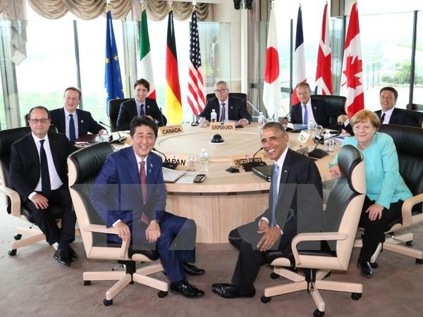 Les dirigeants du G7 s'engagent a cooperer pour garantir la securite de la navigation maritime hinh anh 1