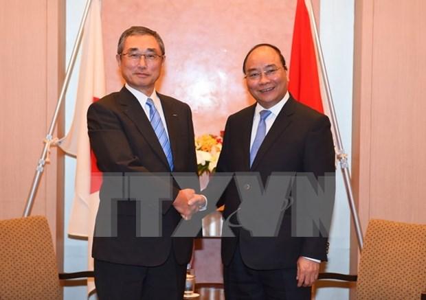 Sommet du G7 elargi : le PM rencontre des dirigeants etrangers hinh anh 1