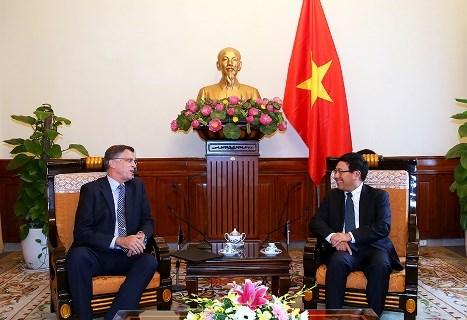 Le vice-Premier ministre Pham Binh Minh recoit l'ambassadeur australien hinh anh 1