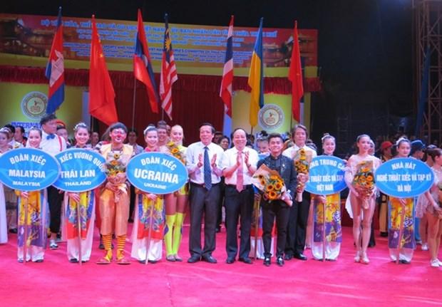 Ouverture du Festival international du cirque 2016 hinh anh 1