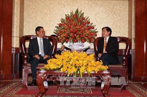 HCM-Ville et Attopeu (Laos) renforcent leur cooperation multidisciplinaire hinh anh 1