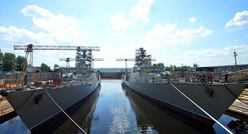 Russie et Vietnam discutent de la commande de deux fregate russes Gepard hinh anh 1