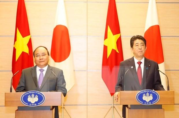 Nguyen Xuan Phuc acheve sa visite au Japon pour participer au Sommet du G7 elargi hinh anh 1