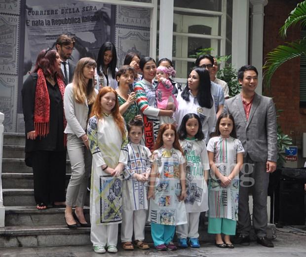 Programme artistique «Des anges de l'Italie » a Hanoi hinh anh 1