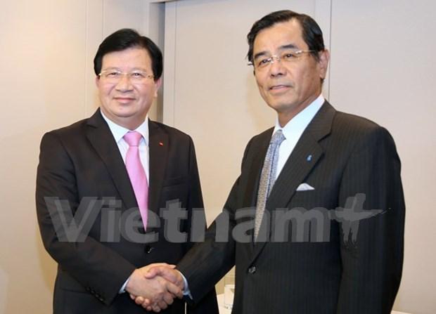Le Vietnam favorise les activites des entreprises japonaises (vice-PM) hinh anh 1