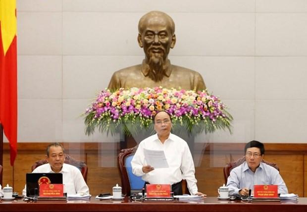 La reunion periodique du gouvernement consacree au perfectionnement de l'institution hinh anh 1