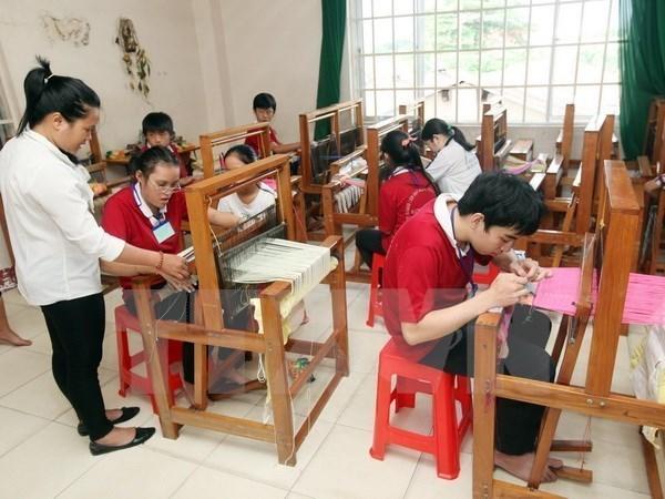 Tien Giang : un projet d'integration sociale profite aux enfants handicapes hinh anh 1
