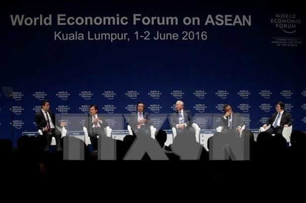 Le Vietnam participe au Forum economique mondial sur l'ASEAN hinh anh 1