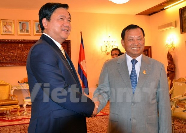 Ho Chi Minh-Ville promeut sa cooperation avec Phnom Penh hinh anh 1
