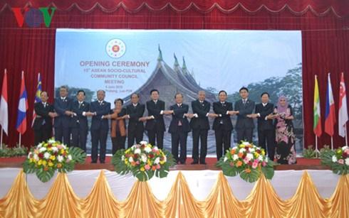 Conference sur l'edification de la Communaute socioculturelle de l'ASEAN hinh anh 1