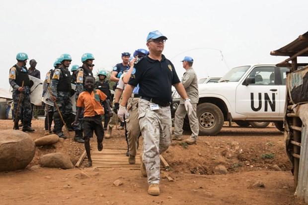 Le Vietnam participera a la police des Nations Unies hinh anh 2