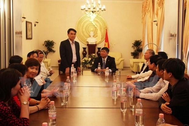 Une delegation de l'Assemblee Nationale du Vietnam en visite en Allemagne hinh anh 1