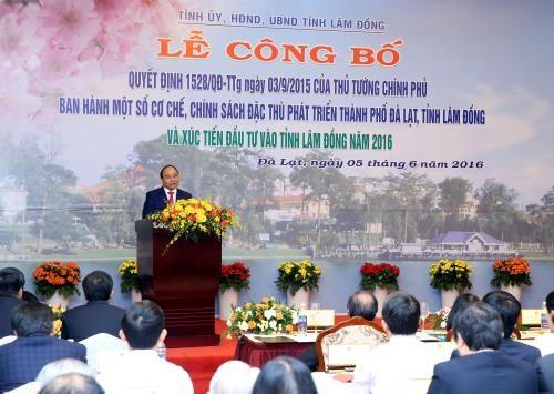 Tourisme et agriculture high-tech, deux priorites de Lam Dong hinh anh 1